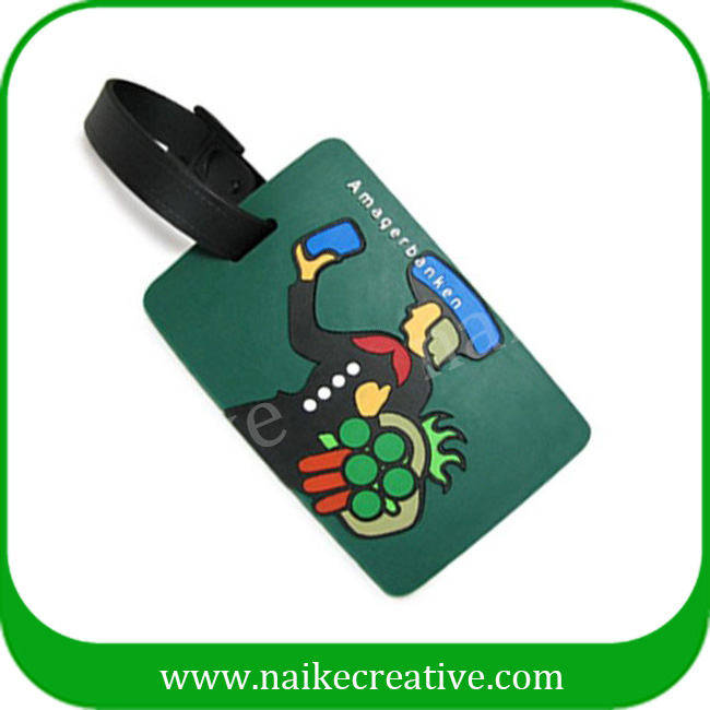 PVC luggage tag-006