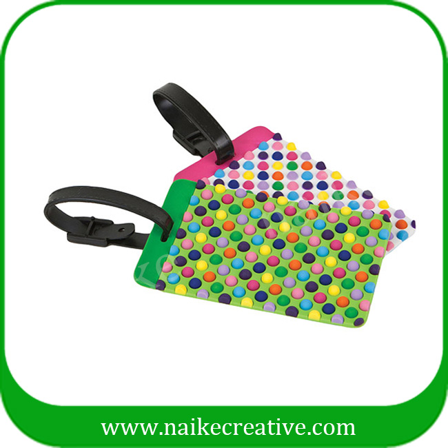 PVC luggage tag-007