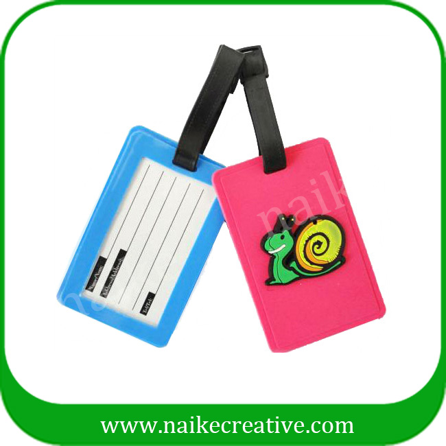 PVC luggage tag-010