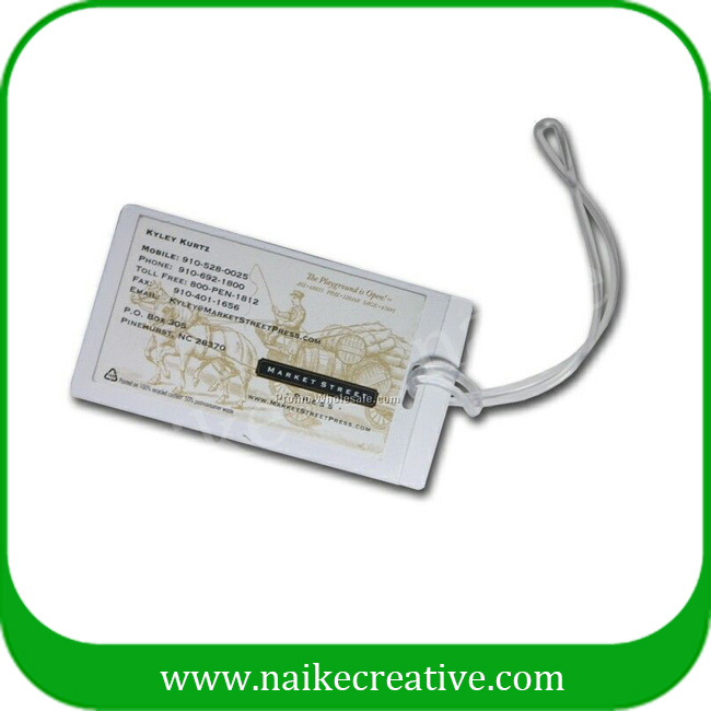 PVC luggage tag-011