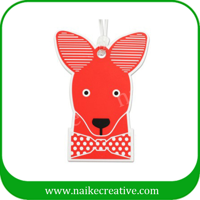 PVC luggage tag-012