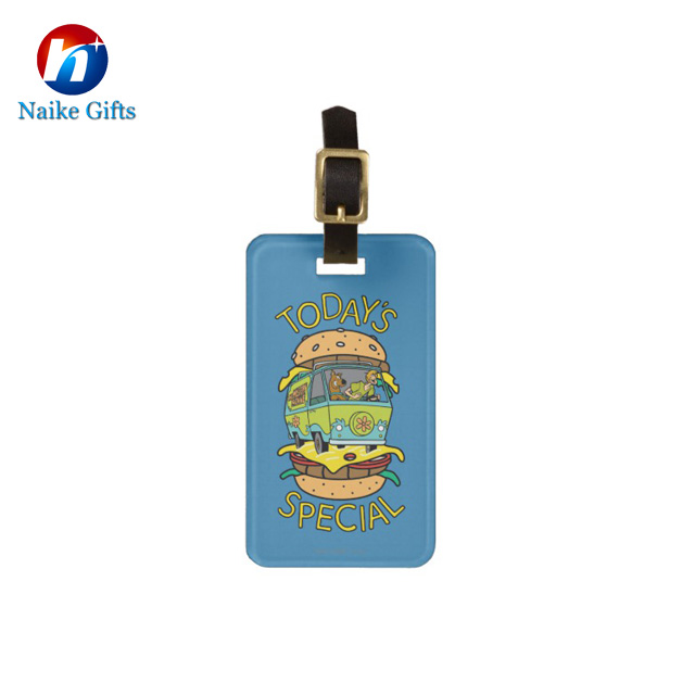 Mcdonald's  hamburger PVC luggage tag-015