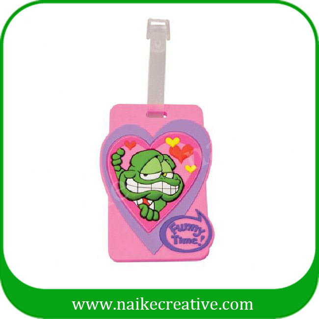 PVC luggage tag-016