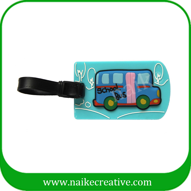 PVC luggage tag-017