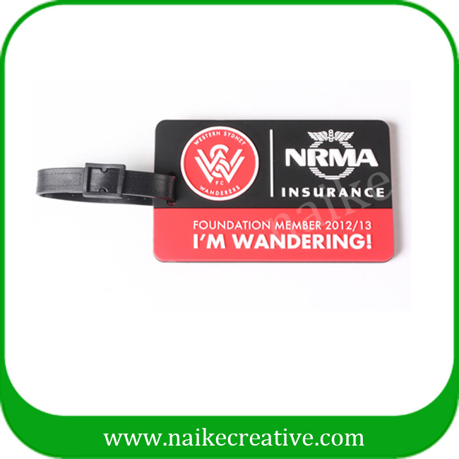PVC luggage tag-018