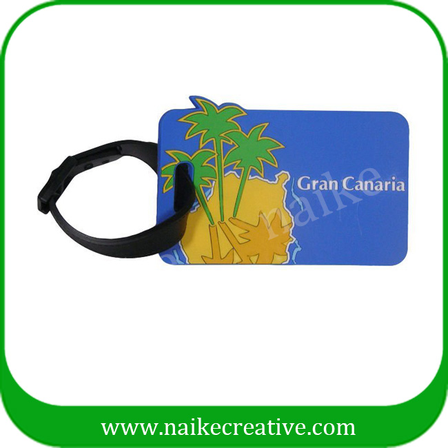 PVC luggage tag-019