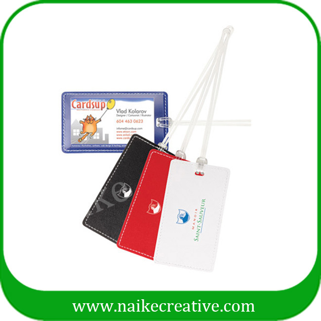 PVC luggage tag-020
