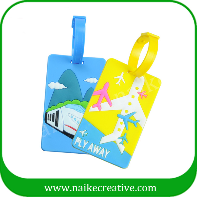 PVC luggage tag-021