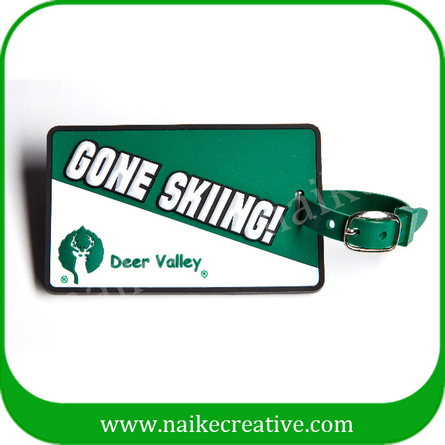 PVC luggage tag-023