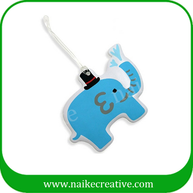 PVC luggage tag-024