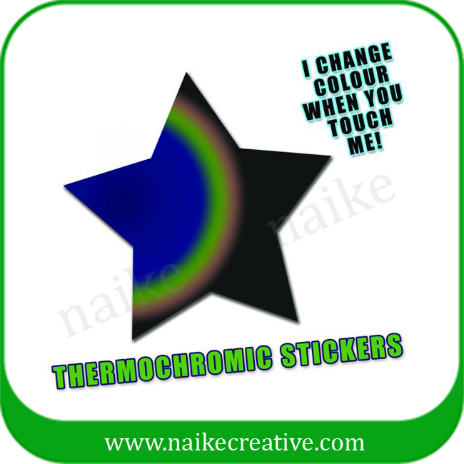 Thermocromic Paper Sticker For Children -001