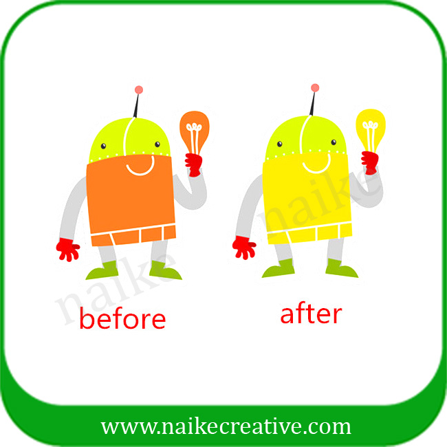 Thermocromic Paper Sticker For Children -002