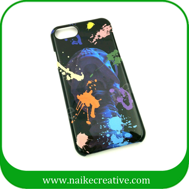 Mysterious colorful iphone case