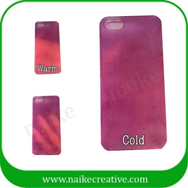Thermocromic Heat Revealed Color Changing iphone case-009