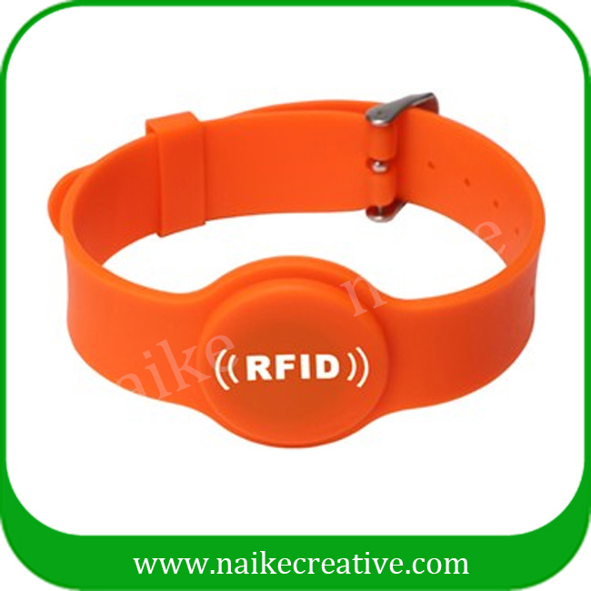 High quality access control silicone rfid wristband