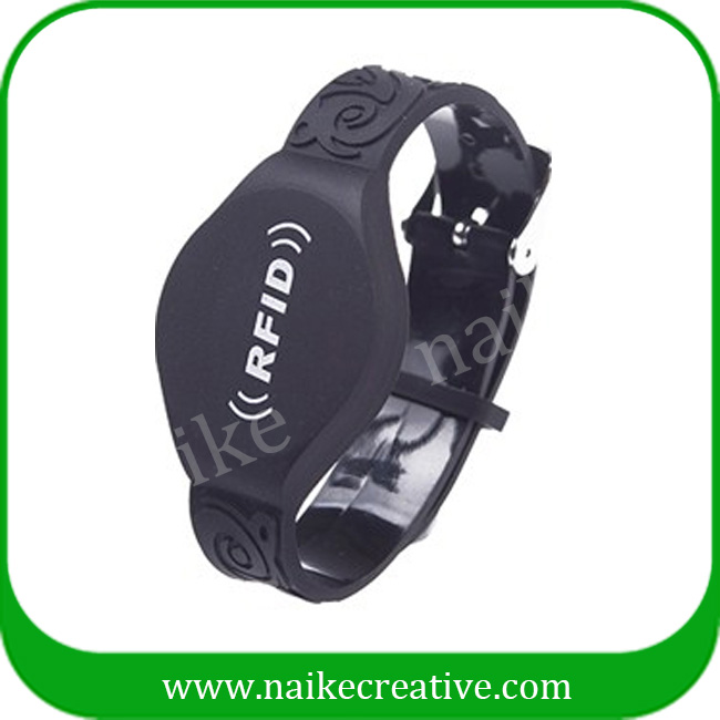 Best price watch shape RFID wristbands rfid wristband for events