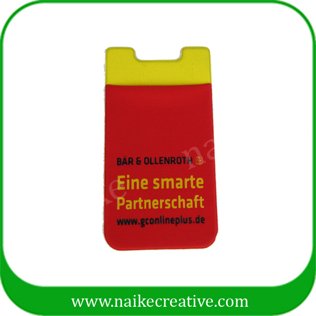 silicone mobile card holder - 001