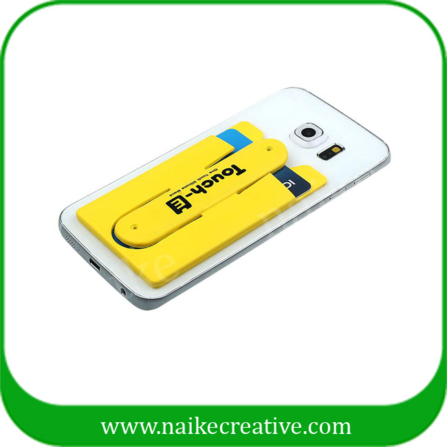 silicone mobile card holder - 004
