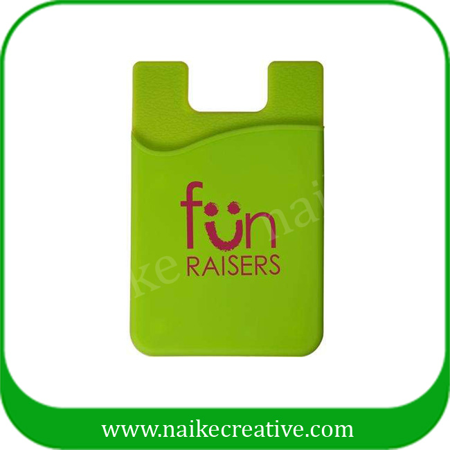 silicone mobile card holder - 005