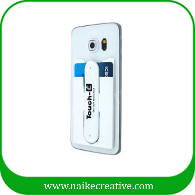 New Design Silicone Mobile Card Holder