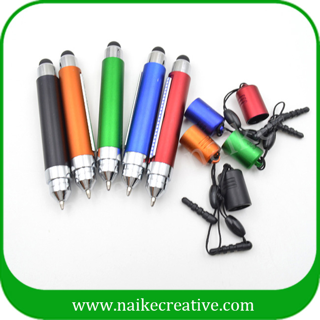 Most popular plastic multifunction banner pen advertising pen