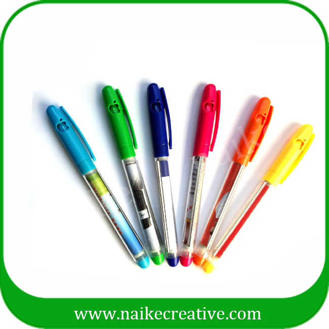 Best Promotional Pull Out Advertising Banner Pen /Flag Ball Pen