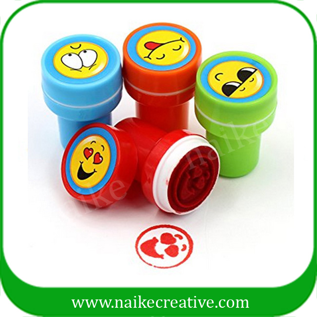 Colorful Emoji Plastic Self-inking Stamp