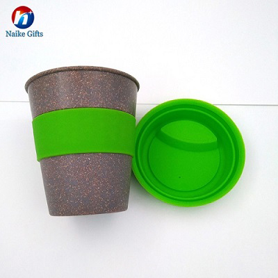 Cups & Saucers Drinkware Type and Eco-Friendly Feature 400ml bamboo fiber coffee cup