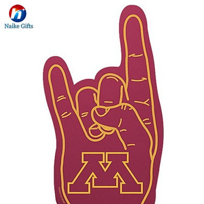 Cheering Usage cheering finger-eva foam hand-customized foam hand