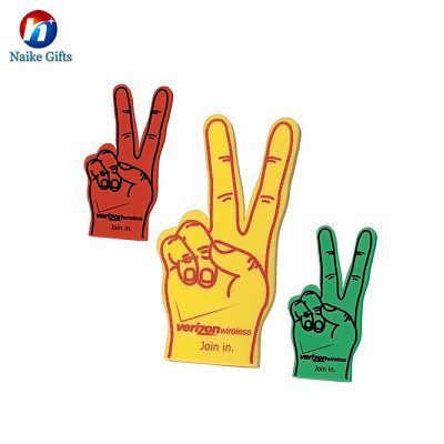 Big hand fans-giant foam hands-customized foam hand title=